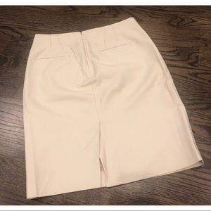 J. Crew Skirts - J. Crew Cream Pencil Skirt